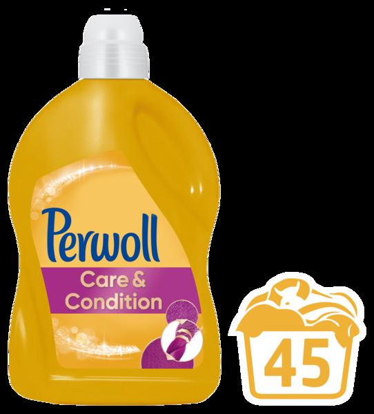 Гель для ежедневной стирки Perwoll Care & Repair, 2,7 л