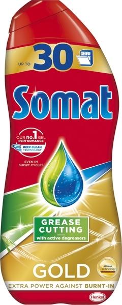 Гель для посудомоечной машины Somat Gold Анти Жир, 540 мл