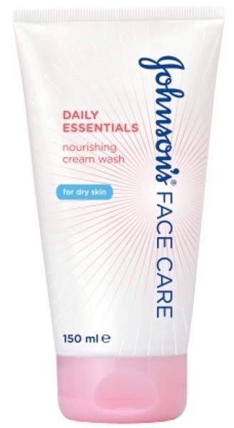 Питательный крем-гель для умывания Johnson`s® Daily Essentials для сухой кожи, 150 мл