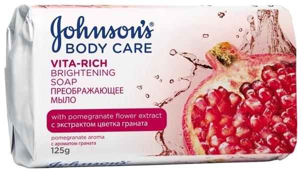 Мыло Johnson's Body Care Vita Rich Преображающее с экстрактом цветка граната, 125 г