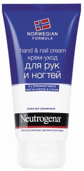 Крем-уход для рук и ногтей Neutrogena Норвежская формула, 75 мл