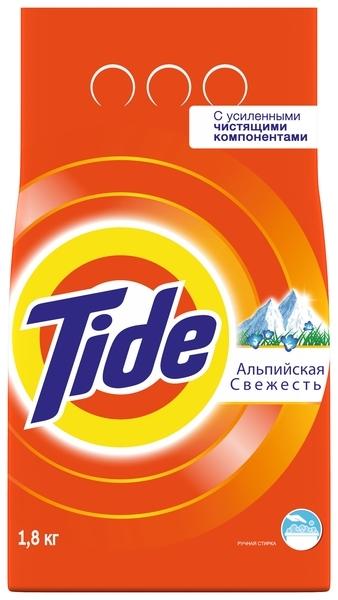 Стиральный порошок Tide Альпийская свежесть, 1,8 кг