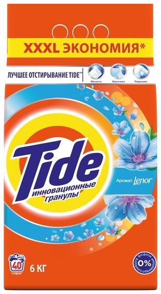 Стиральный порошок Tide Lenor, 6 кг
