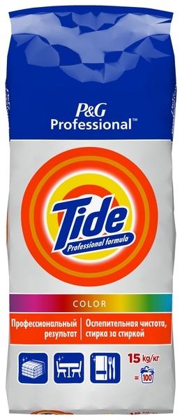 Стиральный порошок Tide Color, для цветных тканей, 15 кг