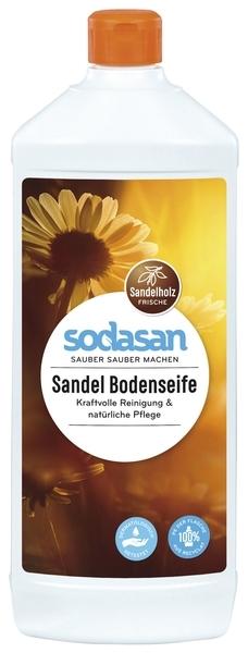 Органическое универсальное моющее средство Sodasan, для пола, 1 л