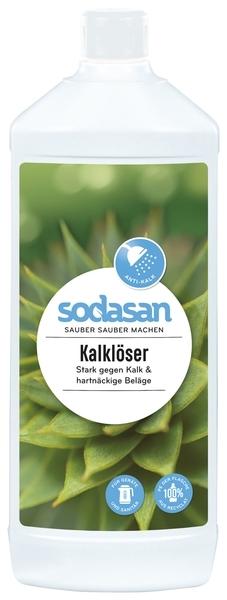 Средство для чистки Sodasan для удаления известкового налета, 1 л