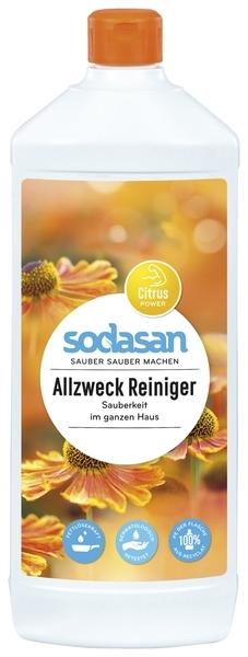 Универсальное органическое моющее средство Sodasan Sensitive, 1 л