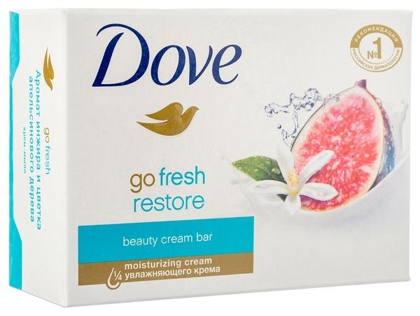 Крем-мыло Dove Инжир и лепестки апельсина, 135 г