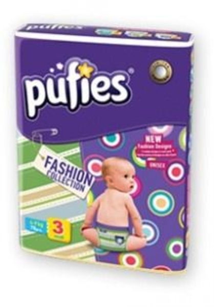 Подгузники Pufies Fashion Collection 3 (4-9 кг) 78 шт.