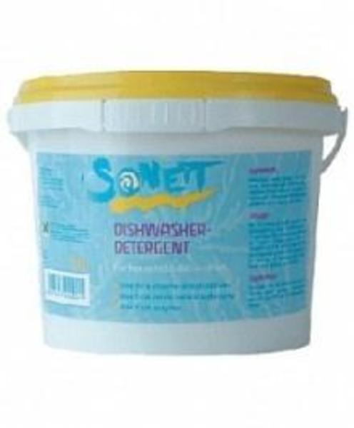 Концентрированный органический порошок для посудомоечных машин Sonett, 1 кг