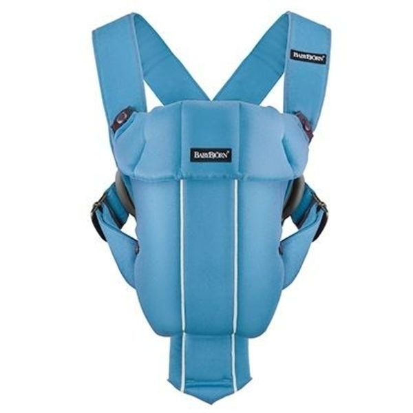 Рюкзак-кенгуру Babybjorn Baby Carrier Original, голубой