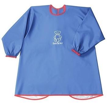 Детская рубашка  для игр и кормления BabyBjorn, голубой BabyBjorn