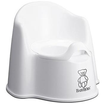 Горшок-кресло BabyBjorn, белый BabyBjorn