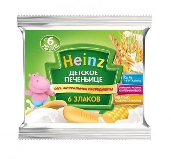 Детское печенье Heinz 6 злаков, 60 г Heinz