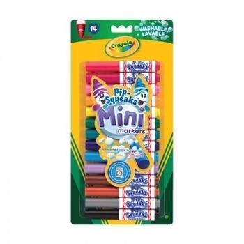 Минимаркеры Crayola смываемые, 14 шт. Crayola