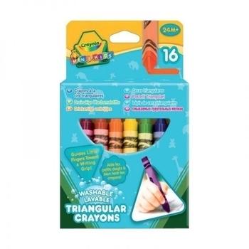 Трехгранные восковые мелки Crayola, 16 шт. Crayola