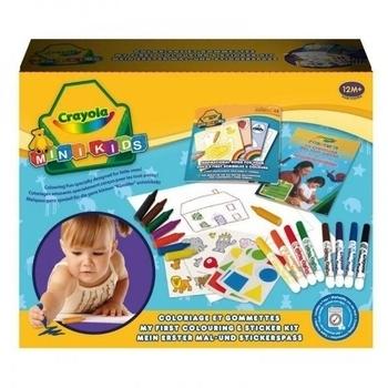 Набор для творчества Crayola Первый набор для рисования с наклейками Crayola