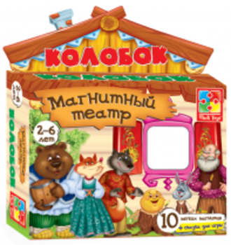 Магнитный театр Vladi Toys Колобок (VT3206-09) Vladi Toys