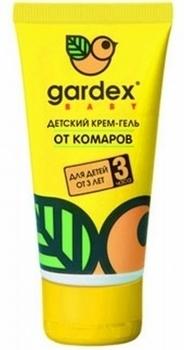 Крем-гель от комаров Gardex Baby с защитой от солнца, 40 мл Gardex