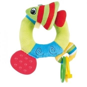Погремушка-прорезыватель Canpol babies Разноцветный океан Рыбка (68/015) Canpol babies