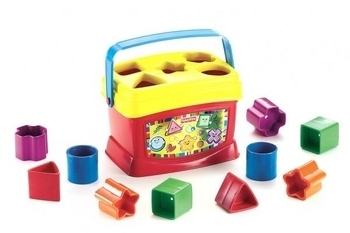 Ведерко с кубиками Fisher-Price Fisher-Price