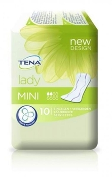 Урологические прокладки TENA Lady Mini, 10 шт. Tena  . Pampik