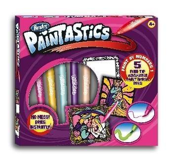 Набор для рисования RenArt Paintastics Волшебное королевство, 5 фломастеров+10 картин+2 рамки RenArt  . Pampik