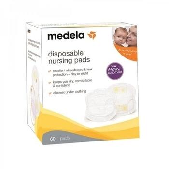 Одноразовые прокладки в бюстгальтер Medela, 60 шт. Medela