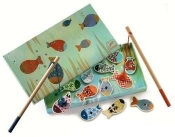 Купить Обучающие игрушки, Магнитная игра Djeco Веселая рыбалка