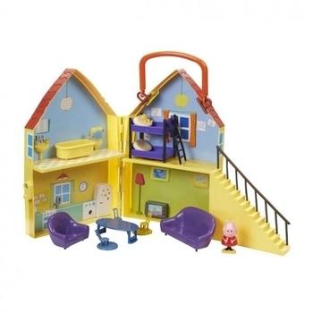 Купить:  Игровой набор Peppa  Дом Пеппы (домик с мебелью, фигурка Пеппы) Peppa