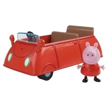 Игровой набор Peppa Машина Пеппы (машинка, фигурка Пеппы) Peppa