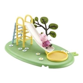Купить:  Игровой набор Peppa  Игровая площадка Пеппы (горка, фигурка Пеппы) Peppa