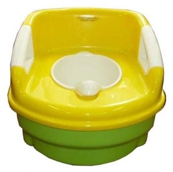 Горшок - кресло Geoby P600 3 в 1, желтый с зеленым Geoby