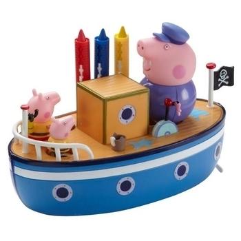 Игровой набор Peppa Морское Приключение (кораблик, 3 фигурки) Peppa
