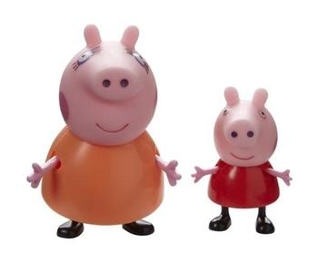 Набор фигурок Peppa Семья Пеппы (Пеппа и мама) Peppa  . Pampik