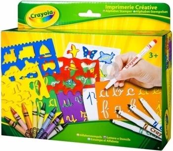 Набор для творчества Crayola Алфавит с трафаретами Crayola