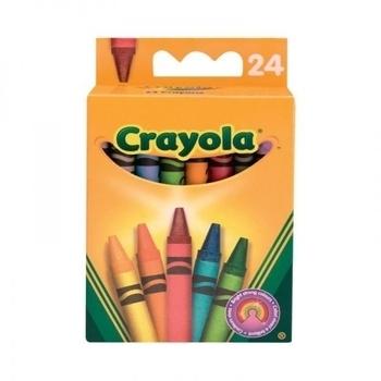 Восковые мелки Crayola, 24 шт. Crayola