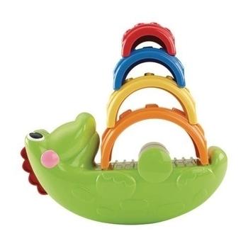 Игрушка Fisher-Price Веселый крокодил Fisher-Price