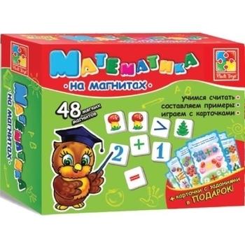 Математика Vladi Toys на магнитах (рус.) (VT1502-04) Vladi Toys