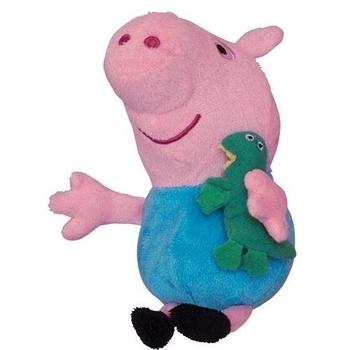 Мягкая игрушка Peppa Джордж с игрушкой, 20 см Peppa  . Pampik