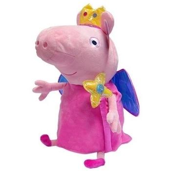 Мягкая игрушка Peppa Пеппа-принцесса с короной и волшебной палочкой, 45 см