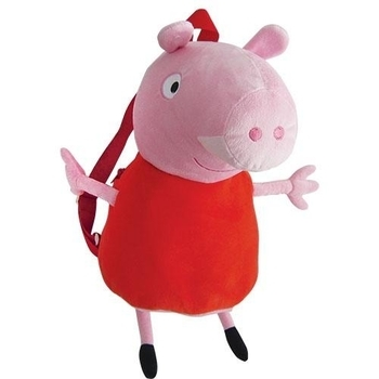 Купить:  Мягкая  игрушка - рюкзак Peppa Пеппа, 52 см Peppa