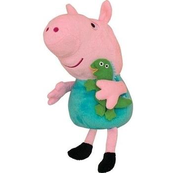 Мягкая игрушка Peppa Джордж с игрушкой, 30 см Peppa  . Pampik