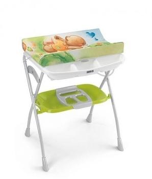 Пеленальный столик CAM Volare, зеленый CAM