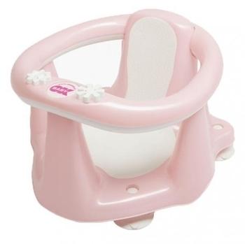 Сидение для ванны OK Baby Flipper Evolution c термодатчиком, нежно-розовый OK Baby  . Pampik