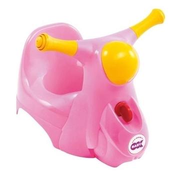 Горшок OK Baby Scooter со звуковой фарой, розовый OK Baby