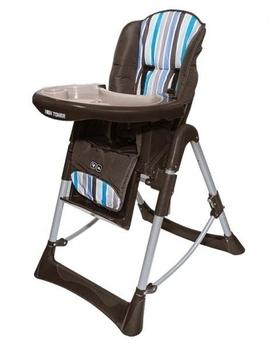 Купить:  Стульчик для кормления ABC design Hightower Malibu, коричневый в полоску ABC design