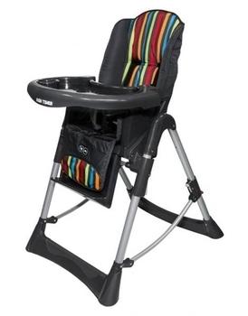 Купить:  Стульчик для кормления ABC design Hightower Multicolour, серый ABC design