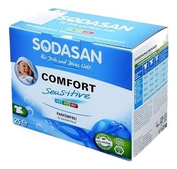 Органический стиральный порошок Sodasan Comfort Sensitive, 1,2 кг Sodasan
