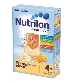 Молочная каша Nutrilon кукурузно-рисовая, 225 г Nutrilon